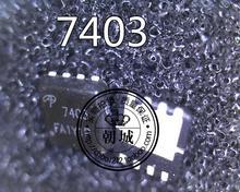 Бесплатная доставка 5 шт./лот 100% НОВЫЙ AON7403 AO7403 7403 MOSFET (Металл-Оксид-Полупроводник Полевой Транзистор)