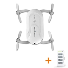 ZEROTECH Dobby Pocket Selfie Drone FPV With 4K HD Camera GPS Mini RC Quadcopter (with two Batteries)