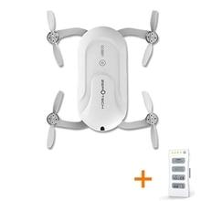 Saku Dobby ZEROTECH Selfie Drone FPV Dengan 4 K HD Kamera GPS Mini RC Quadcopter (dengan dua Baterai)