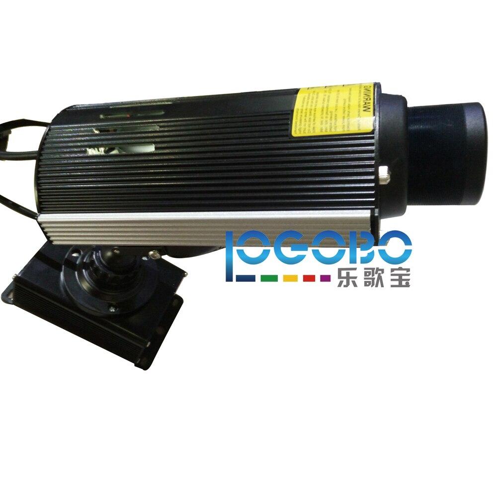 Dropshopping Personnalisé Rotation Gobo Projecteur Lumière 30 W LED Lampe Vie jusqu'à 30,000 Heures et Distance De Projection jusqu'à 10 mètres