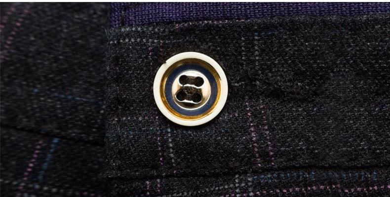 2019 New Pants Men Spring Summer Fashion Commerce Casual Pants Men Straight Business Suit Trousers brand Mens Pant Size 38