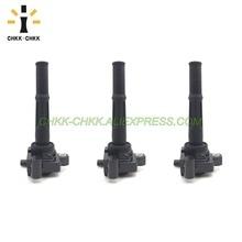 3PCS CHKK-CHKK Car Accessory Ignition Coils 90919-02212 for Toyota 95-04 Tacoma 4Runner Tundra 3.4L V6 UF156 C1041 9091902212