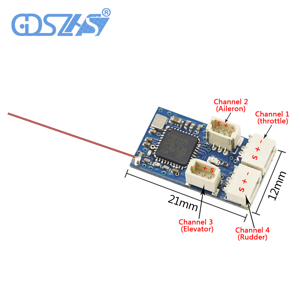 Receivers DSMX/DSM2 with Futaba SFHSS Flysky FRSKY MinimumRC Receiver for RC airplan micro rx high quality 5pcs eachine 2 4g receiver original antenna for minicube compatible frsky flysky for dsm2 receiver rc multiopter