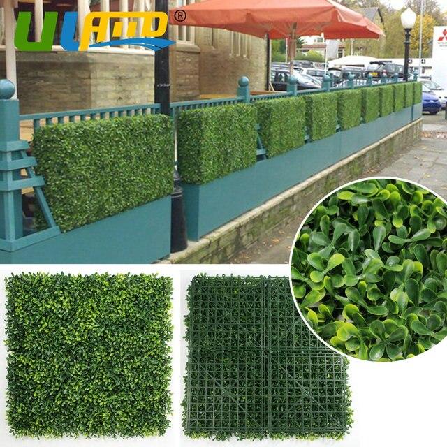 Us 9 1 Uland 25x25 Cm Pc Siepi Artificiali Uv Sintetica Pravicy Recinzione Esterna Vite Recinzione Fai Da Te Pannelli Decorativi Da Giardino Per La
