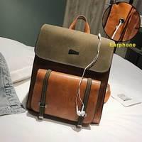 Женский рюкзак, женская сумка из искусственной кожи, рюкзак, студенческие рюкзаки, винтажный школьный рюкзак, ретро рюкзак, сумки на плечо ...