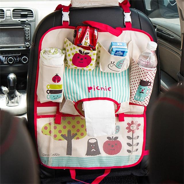 voiture style de voiture banquette arri re organisateur rangement rangement maman sac pour. Black Bedroom Furniture Sets. Home Design Ideas