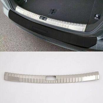 Interno in Acciaio inox Piastra di Protezione Paraurti Posteriore Trim 1 pcs Per Audi A6 C8 2019