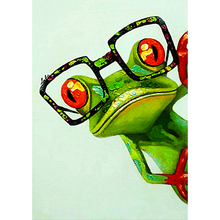 frog diamond Embroidery diy painting mosaic 3d cross stitch picture H739