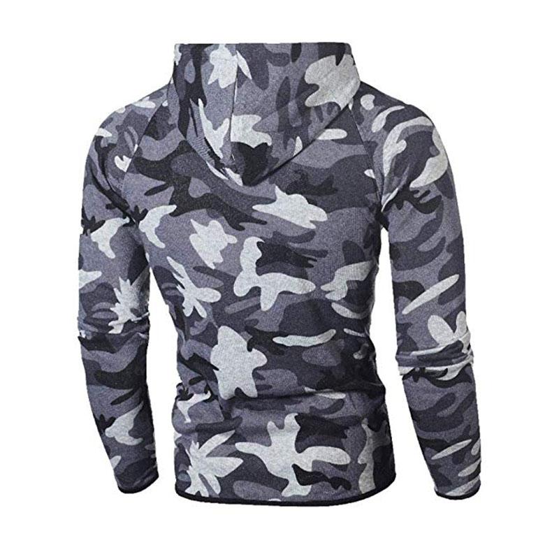 Men\`s Autumn Winter Snowboarding Camouflage Top Pants Slim Sports Suit Tracksuit Hoodies Camo Suit Long Sleeves Sweatshirt (14)