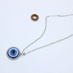Ожерелье глаза с подвеской в виде турецкого знака, подвеска из кристалла, для женщин и мужчин