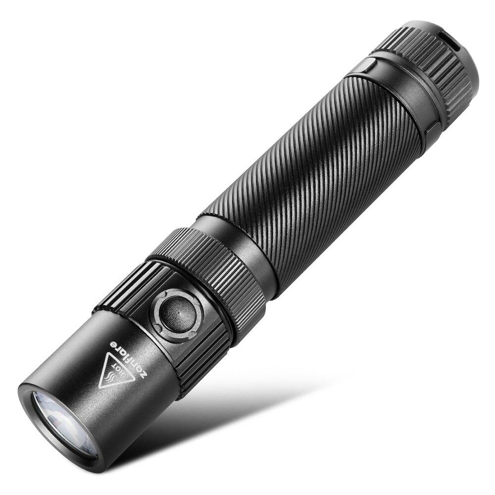 F1 En Aluminium Étanche Zoomable CREE LED lampe de Poche Torche Lumière 1240Lm LED Portable Projecteur avec USB Rechargeable Cabine