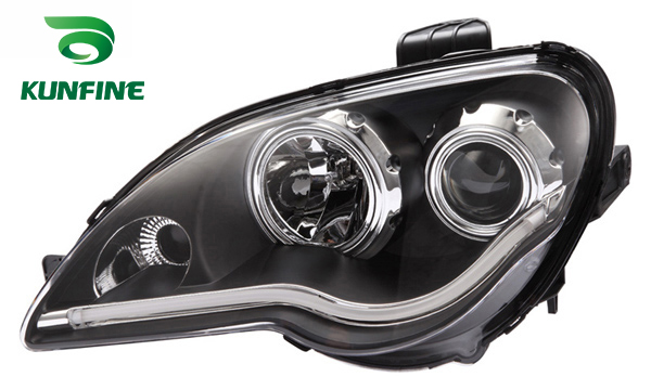 Pair of Car Headlight Assembly For PROTON GEN2 2008 Tuning Headlight Lamp parts with Bi-xenon Project Lens Daytime Running light платье glamorous ka5314 р s int