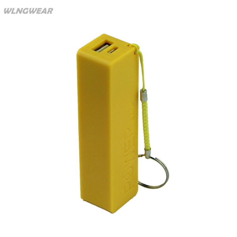 Portable Power Bank 18650 External Backup Battery Charger With Key Chain for USB Charging Mobile Phones + Key Chain WLNGWEAR