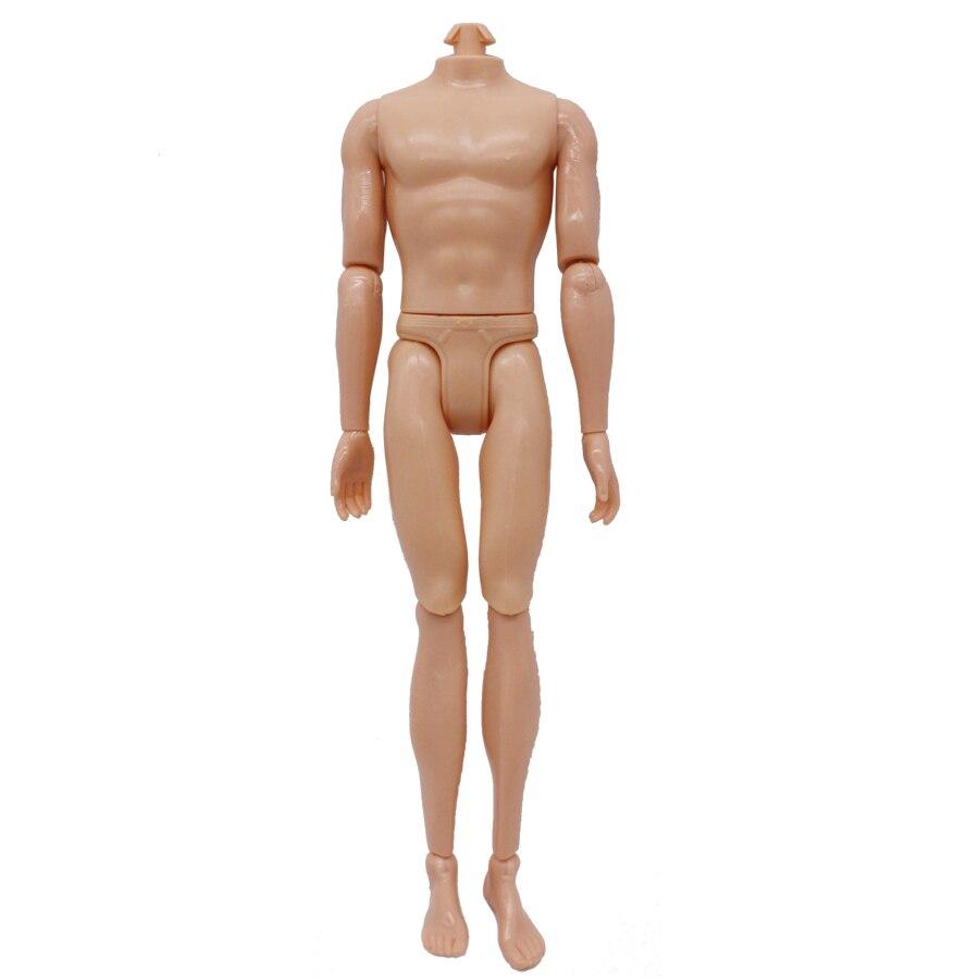 Abbyfrank 30cm 14 Flyttbar Jointed Doll Boy Naken Kropp Naken Dukke - Dukker og tilbehør - Bilde 4