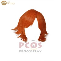 In Stock, Ready Ship ~ Best RWBY Beacon JNPR Nora Cosplay orange short Wig mp001583