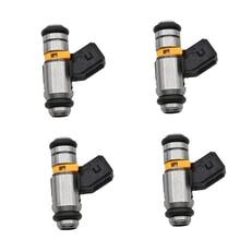 4 adet/takım yakıt enjektörü Fiat 500 için Punto Lancia 1,2 1.4 OEM IWP160 71724544 77363790 71792994 71724545 71724546 75112160