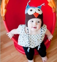 новый SA образный прекрасные мальчик девочка шапки зимние детские шапки вязаные шапки детские теплые шапки ухо протектор шляпы ручной a06m06