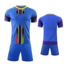 074e9bf3c Adult Kids Soccer Jersey Set Survetement Football Kit Men Boy Child Futbol Training  Uniforms Set De Foot Jersey Shorts DIY Print