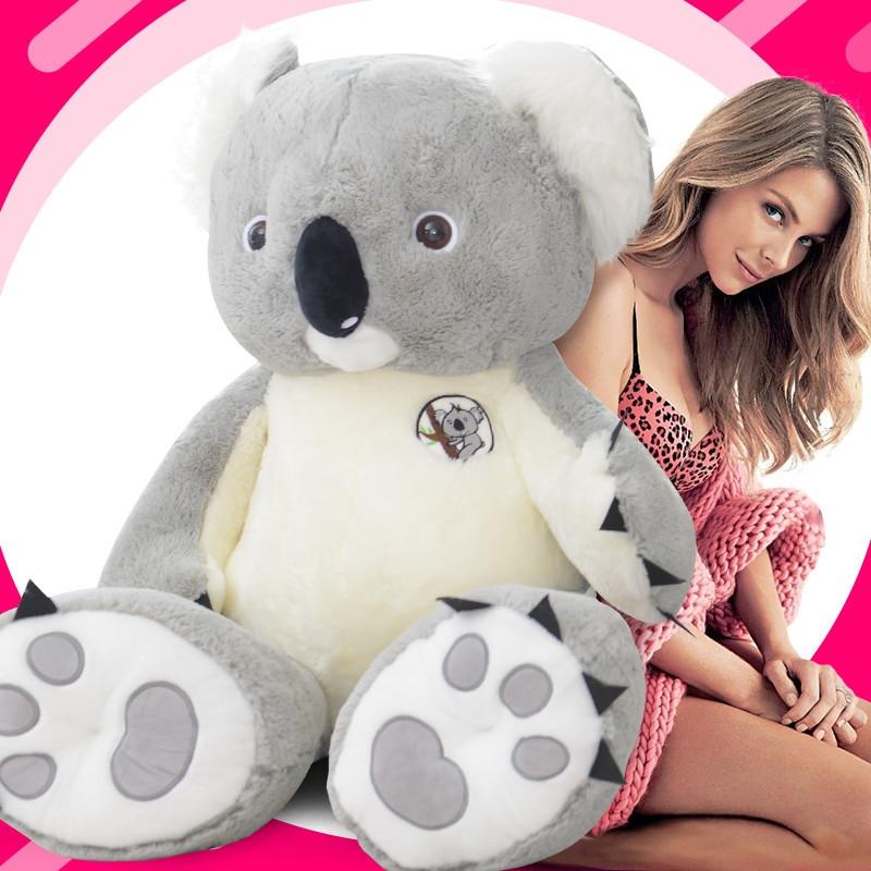 70-140cm Big Giant Australia Koala felpa juguete suave peluche Koala oso muñeca Juguetes niños Juguetes regalo de cumpleaños para niñas