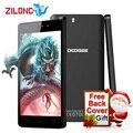 Original doogee x5 android 5.1 5.0 polegada hd 1280*720 ips móvel mtk6580 quad núcleo telefone 1 gb ram 8 gb rom 5.0mp 3g wcdma smartphones