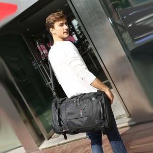 Image 3 - KAKA sac à dos étanche de grande capacité pour hommes, sac de voyage à bandoulière dordinateur, sac multifonctionnel