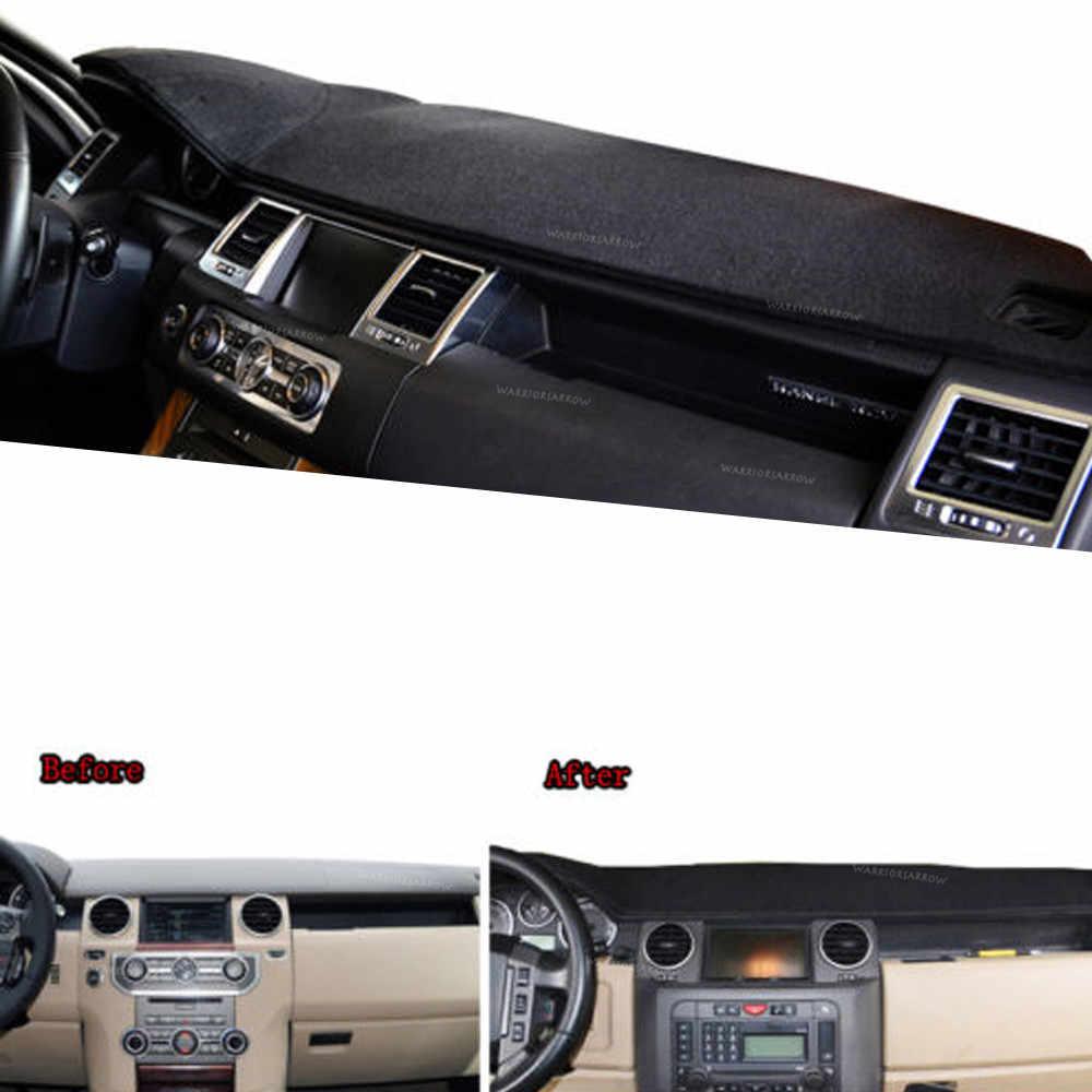 WarriorsArrow Dashboard Cover Dashmat Dash Mat Pad Sun Shade Dash Board Cover Carpet LHD For Land Rover LR3/4 Range Rover Sport