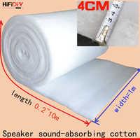 HIFIDIY LIVE 0,2 M Polyester Faser Wolle Akustische isolierung material sound-absorbierende baumwolle weiß baumwolle flammhemmende 1m * 0,2 m