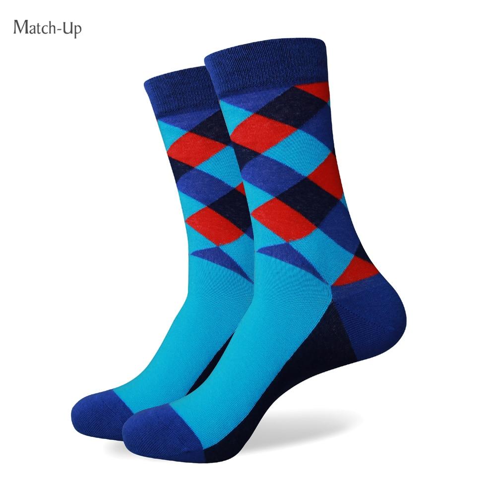 Zápas pánské barevné bavlněné ponožky 265