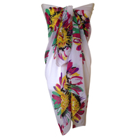 Plus Size Thick Beach Sarongs Abstract Flower Bikini Cover Ups Scarf Wrap Swim Swimwear Beach Beautiful