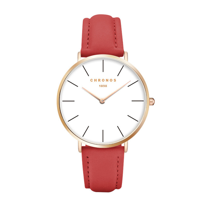 CHRONOS Top Brand Women Watches Luxury Brand Casual Wristwatch  Quartz Watch Male Female Clock Relogio Feminino