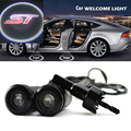 2 x Car Door Light Laser Welcome Ghost Shadow Projector Logo Light For FORD FOCUS ST