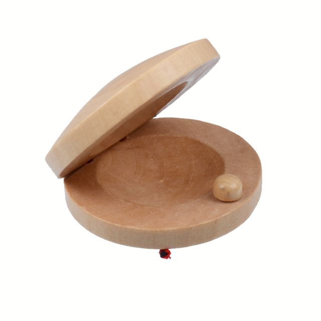 Wooden Castanets for Classic Flamenco