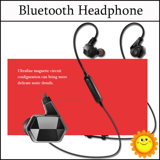 6d76ba67562 Nabolang BT11 Bluetooth Headset Wireless Sport Bluetooth Earphone with Mic  Noise Cancelling Headset for iPhone 6S