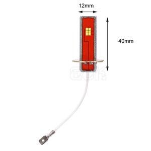 Image 3 - 2pcs Canbus led H1 H3 LED Bulb 12 led CSP Chip 60W Auto Car Fog Light Lamp Driving Running Light 6000K White 12V 24V