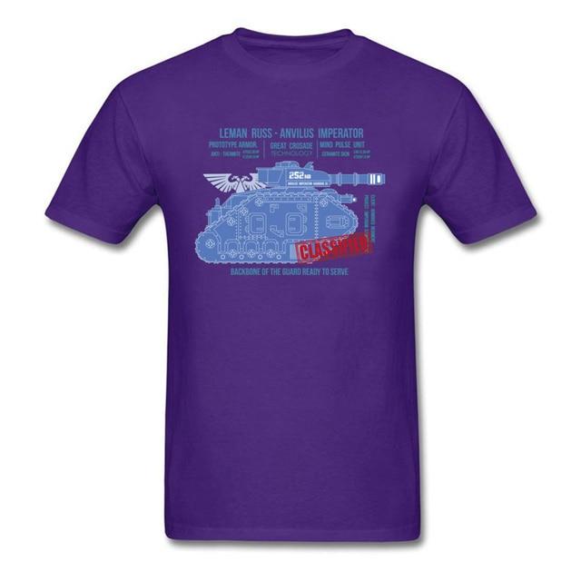 Marvel T-shirt hommes modèle T-shirt LEMAN RUSS 40K os T-shirt derniers hommes coton t-shirts Zelda Geek hauts militaire Streetwear