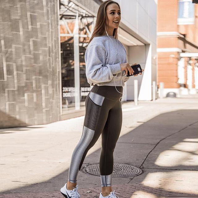 Women High Waist Fitness Leggings – Activewear