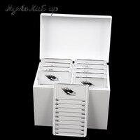 Clear Eyelashes Storage Box 10 Layers Acrylic Pallet Lash Holder Individual lash Volume Display Stand For Eyelash Extension Tool