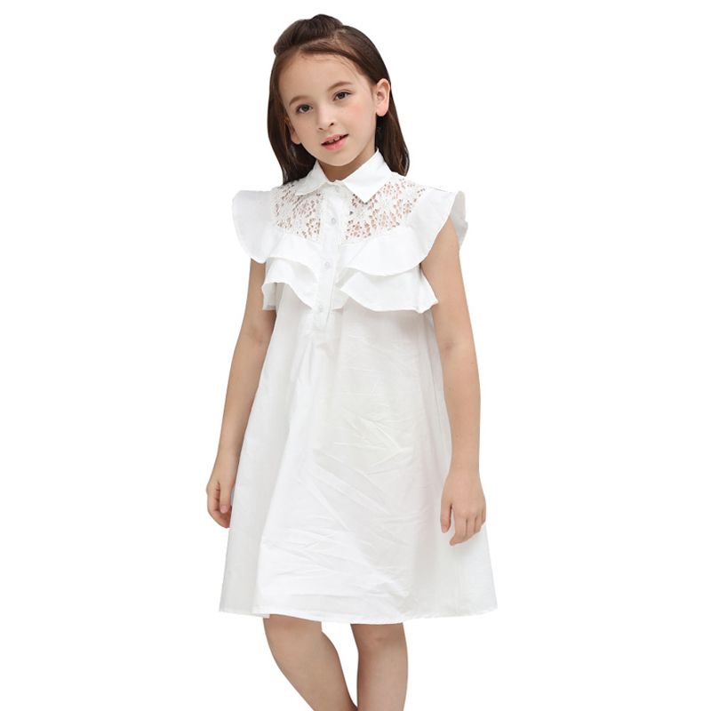 9fc452d05 Princess Teenage Girls Clothing Set 2018 New Two piece White Tops ...