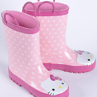 Botas de lluvia de goma Hello Kitty, Botas de lluvia para niños y niñas, Botas de lluvia para bebé para niños, zapatos de agua para niños pequeños, Bota Menina, Botas infantiles