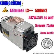 KUANGCHENG ASIC Майнер ANTMINER L3++ 580 м(без блока питания) Scrypt Майнер LTC Litecion врубовая машина лучше, чем ANTMINER L3