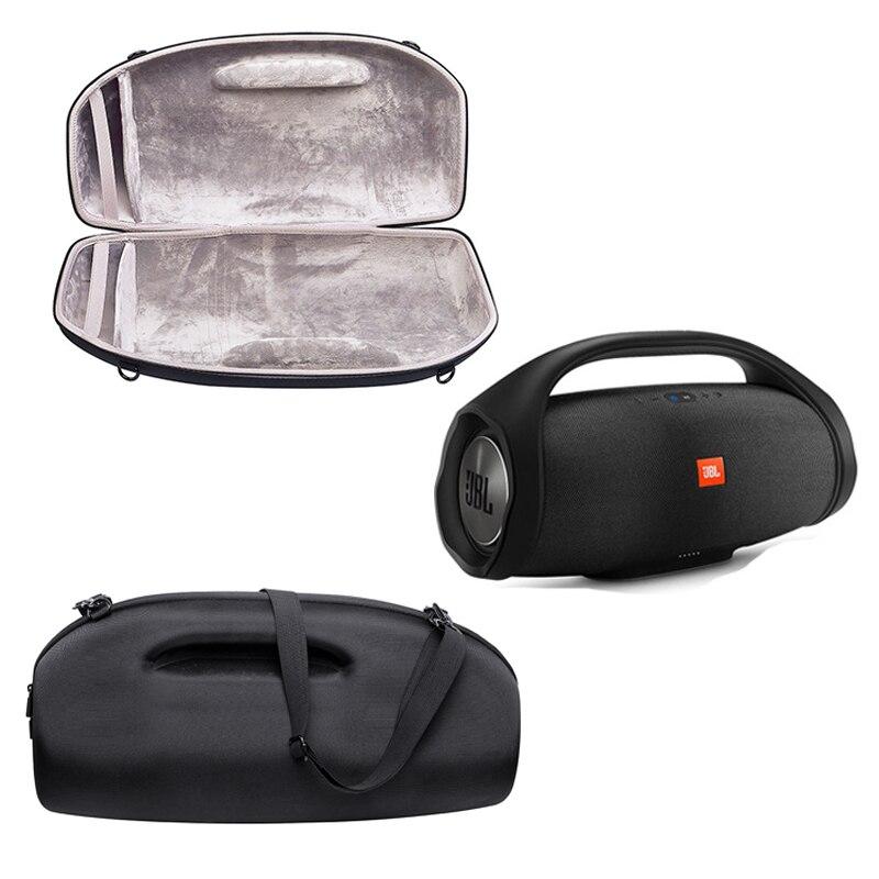 2018 nuevo bolso de la cubierta de la caja protectora del altavoz de la PU para JBL BOOMBOX inalámbrico Bluetooth altavoz de viaje que lleva EVA bolsa-in Accesorios de altavoces from Productos electrónicos    1