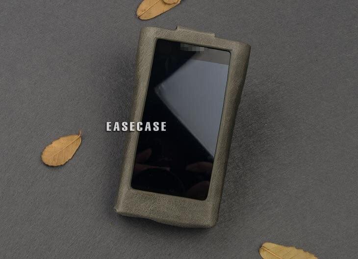 A6 Custom-Made cassa Del Cuoio Genuino per SONY WM1 WM1A WM1ZA6 Custom-Made cassa Del Cuoio Genuino per SONY WM1 WM1A WM1Z