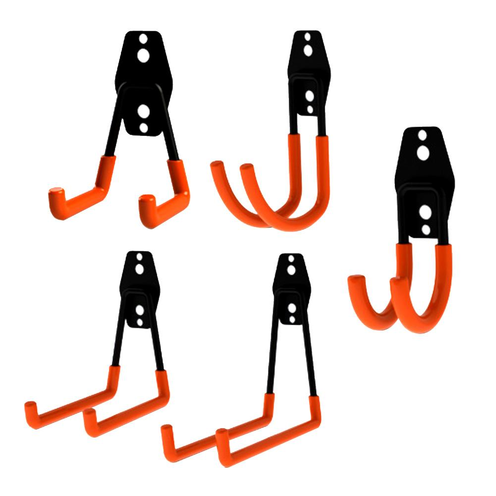 Heavy Duty Wall Garage Storage Utility Double Hooks For Organizing Power Tools