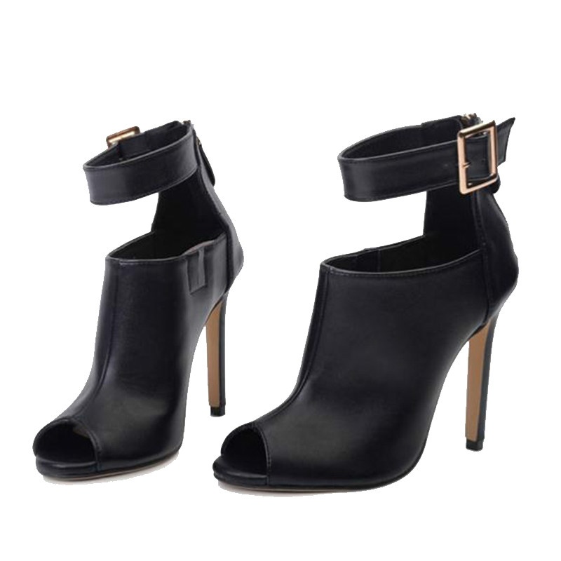 Дропшиппинг, гладиаторские туфли лодочки, женские пикантные сандалии на высоком каблуке с пряжкой и ремешком в римском стиле, сандалии с от