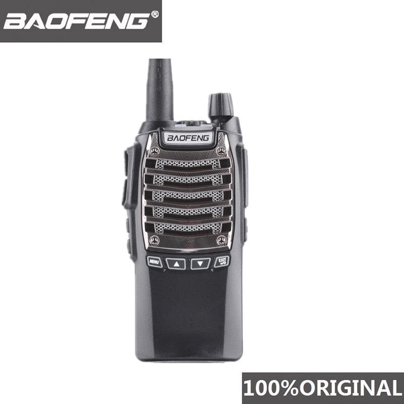 100% Original 8W 128 Channels Hand Free Baofeng UV 8D Walkie Talkie KM UHF 400 480MHz Portable Radio Comunicador UV8D Interphone-in Walkie Talkie from Cellphones & Telecommunications