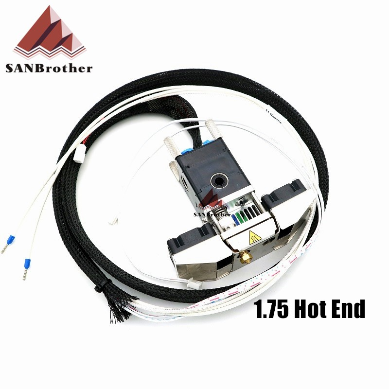 3D Printer Part Olsson Block Nozzle Complete Hot end Header 1.75 Filament For Ultimaker 2+ Extended Parts Hot Sale!!!