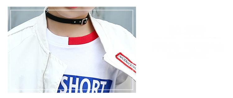 HTB1zHGHeHsTMeJjSsziq6AdwXXaS - Weixu Children Spring Autumn Coat for Girls Fashion Kids White Bat Sleeves Oversize Biker Jacket Girls School Wear Bomber Jacket