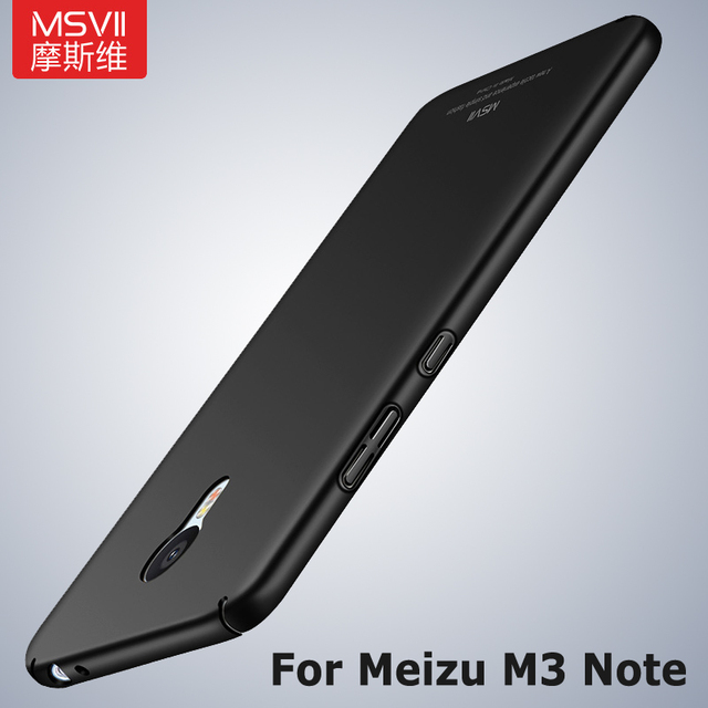 meet 93749 305ef US $3.88 22% OFF|MSVII Cases For Meizu M3 Note Case Silm Matte Cover For  Meizu M3s M3 s Case Hard PC Back Cover For Meizu M 3 Note 3 Phone Cases-in  ...