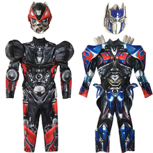 лучшая цена New Hornet Optimus prime iron man performs stage performance armor children cosplay costumes Halloween bumblebee clothes
