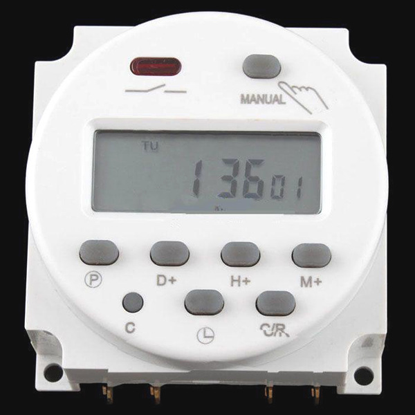 Digital LCD Power Weekly Programmable Timer Switch Time Relay 12V 24V 110V 220-240V 16A - Guangzhou PinCe household products co., LTD store